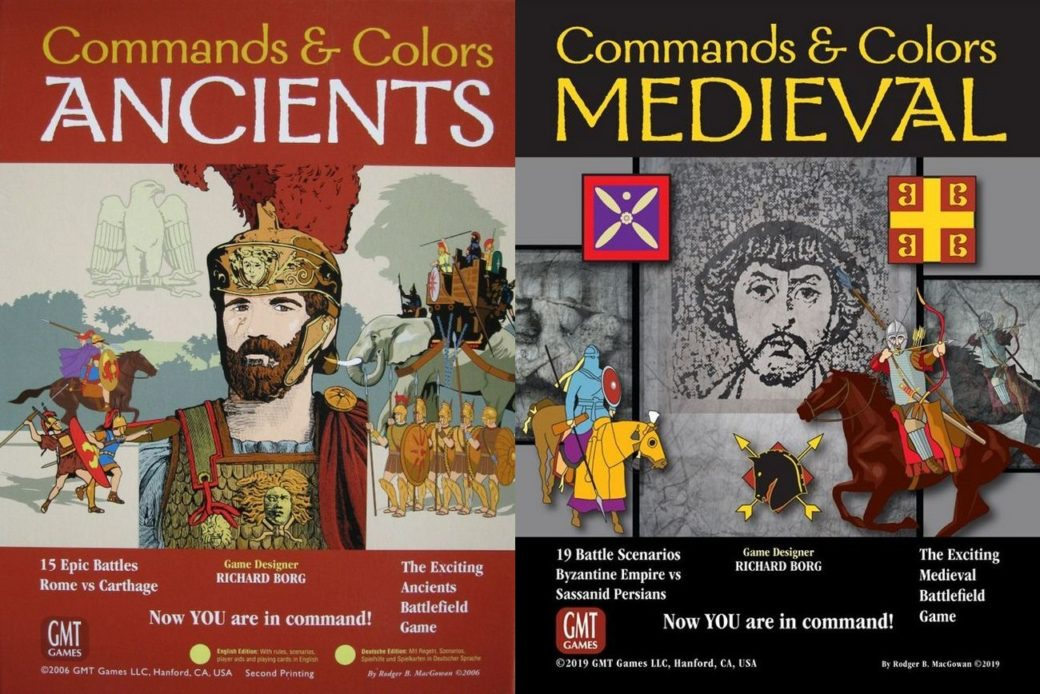 Commands & Colors: Swords, Arrows and Spears – Hexandcounter